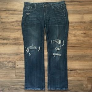 Vigoss Jagger Straight Ripped & Distressed Jeans